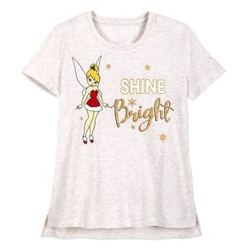 Disney Tinker Bell Holiday T-Shirt for Women