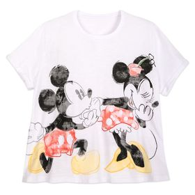 Disney Mickey and Minnie Mouse T-Shirt for Women –