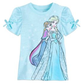 Disney Anna and Elsa T-Shirt for Girls