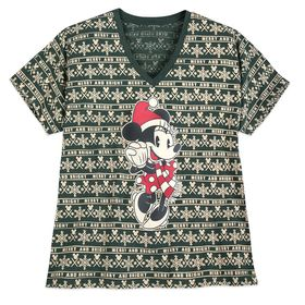 Disney Minnie Mouse Holiday Cheer T-Shirt for Wome