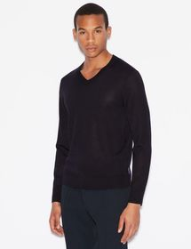 Armani SWEATER IN PURE VIRGIN WOOL