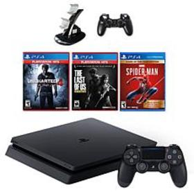 PlayStation 4 Slim with Spiderman, Greatest Hits E