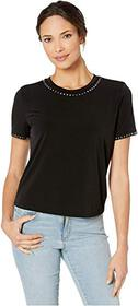 MICHAEL Michael Kors Stud Short Sleeve T-Shirt