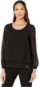 MICHAEL Michael Kors Cut Out Back Top