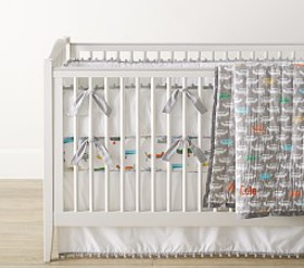Pottery Barn Asher Airplane Baby Bedding