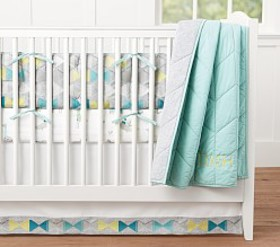 Pottery Barn Dash Baby Bedding