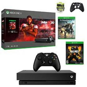 Xbox One X 1TB NBA 2K20 with Titanfall 2 and Call