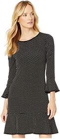 MICHAEL Michael Kors Mini Dot Flounce Dress