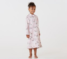 Pottery Barn Holiday Deer Flannel Nightgown