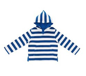 Pottery Barn Striped Kid Cover-Up