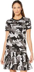 MICHAEL Michael Kors Grand Camo Crew Short Sleeve