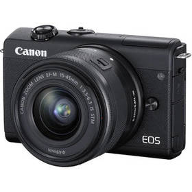 Canon EOS M200 Mirrorless Digital Camera with 15-4