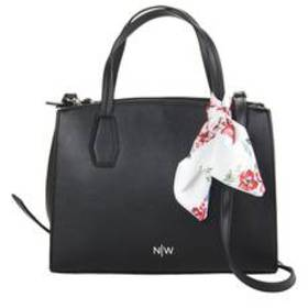 Nine West Solid Tally Satchel with Scarf