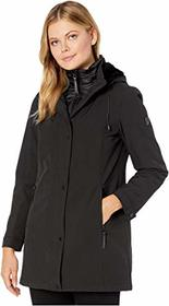 Vince Camuto Vince Camuto - Hooded Softshell with