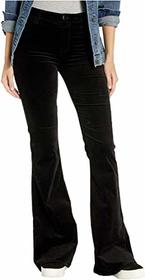 J Brand Valentina High-Rise Skinny in Black