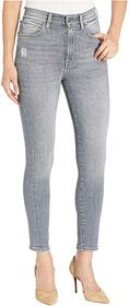 7 For All Mankind High-Waist Ankle Skinny in Drift