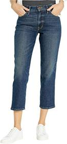 Lucky Brand Mid-Rise Authentic Straight Crop Jeans