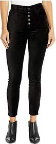 7 For All Mankind High Waist Ankle Skinny Exposed