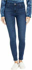 J Brand Maria High-Rise Skinny in Radiowave