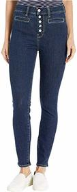 7 For All Mankind High-Waist Ankle Skinny in Fate
