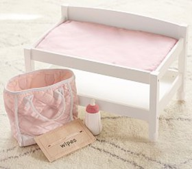 Pottery Barn Doll Changing Table