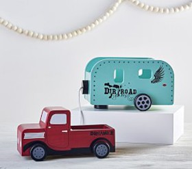 Pottery Barn Junk Gypsy Truck & Trailer