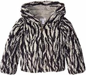 Splendid Littles Braided Faux Fur Jacket (Toddler/