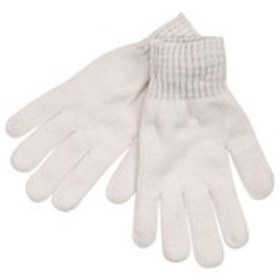 KIT Womens Chenille Knit Metallic Cuff Gloves