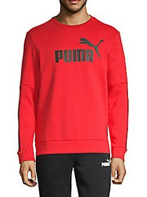 PUMA Amplified Logo Sweatshirt RED