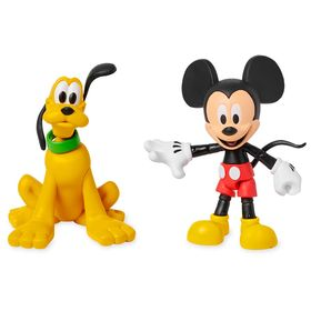 Disney Mickey Mouse and Pluto Action Figure Set –