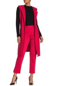 St. John Collection MIlano Wool Blend Knit Cropped