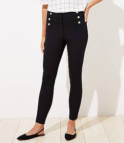 Sailor High Waist Skinny Ankle Pants in Curvy Fit