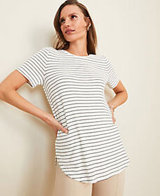 Striped Tunic Tee