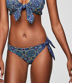 LOFT Beach Side Tie Hipster Bikini Bottom