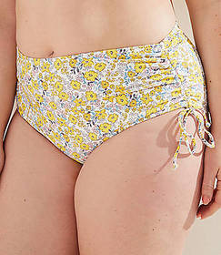 LOFT Plus LOFT Beach Sunny Floral Adjustable Side