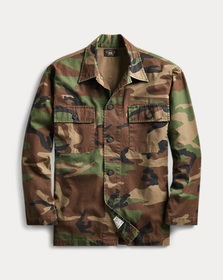 Ralph Lauren Camo Cotton Shirt Jacket