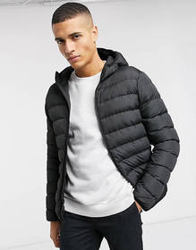 French Connection padded hooded zip through jacket