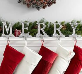 Pottery Barn Merry Stocking Holders