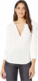 Free People Military Mix Henley