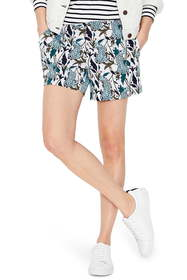 BODEN Jungle Print Shorts