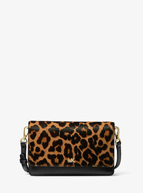 Michael Kors Leopard Calf Hair and Leather Convert