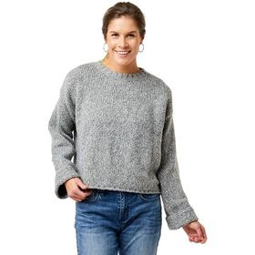 Carve Designs Estes Crop Sweater - Women's