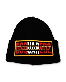DSQUARED2 - Logo-Embroidered Knit Hat