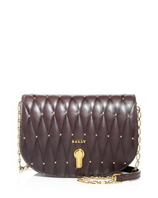 Bally - Clayn Quilted Leather Mini Crossbody