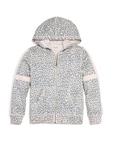 Splendid - Girls' Leopard-Print Hoodie, Big Kid -