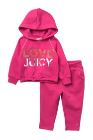 Juicy Couture Hoodie & Pants Set (Baby Girls)