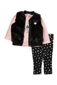 Juicy Couture Faux Fur Vest