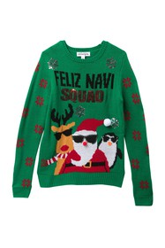 Ten Sixty Sherman Feliz Navi Squad Christmas Sweat
