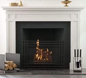 Pottery Barn Easton Fireplace Set