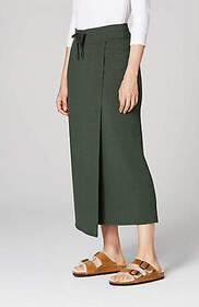 Pure Jill Serenity Wrap-Style Skirt
